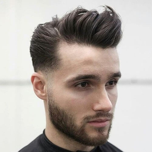 Galerry hairstyle mens hard part