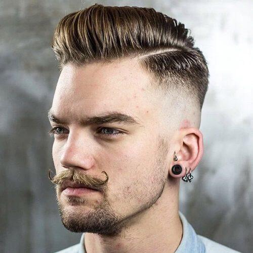 hipster pompadour haircut