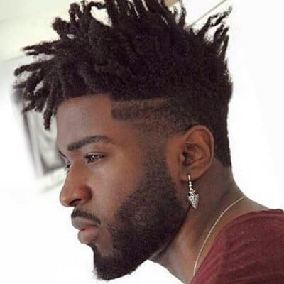 Curly top and slightly trimmed sides and back for men cool hairstyle - 60 Haircuts For Black Men In 2016