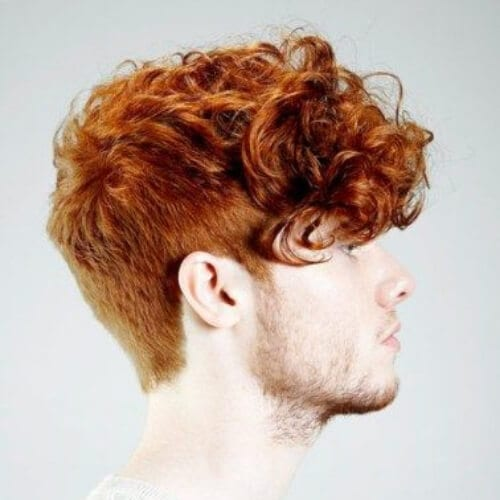 ginger short hairstyles for men