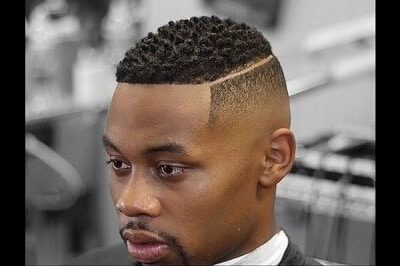 haircuts for black men faded sides trimmed top