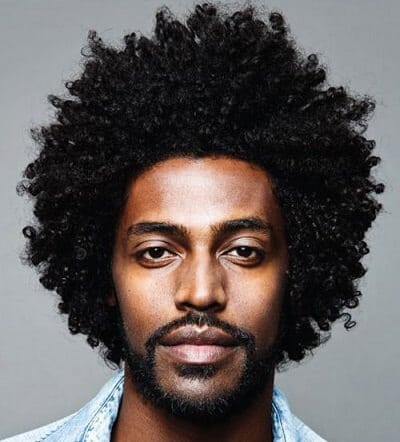 haircuts for black men with curly hair kinky braids afro