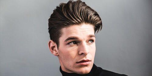 long pompadour haircut