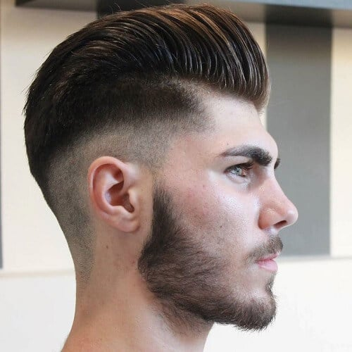 male pompadour haircut
