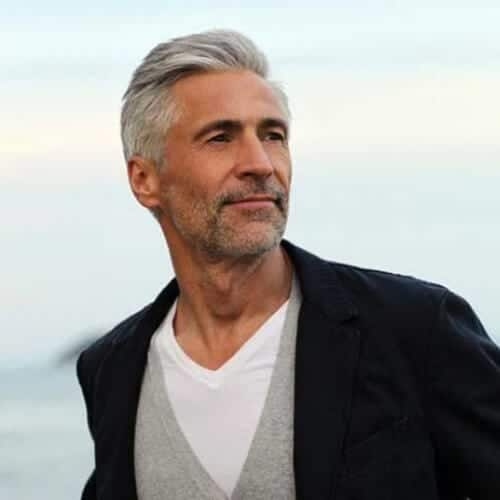 mature short hairstyles for men