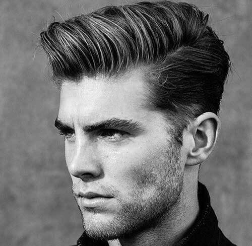rockabilly pompadour haircut