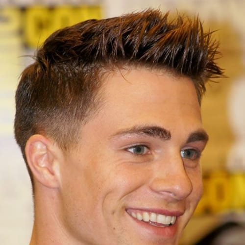 short fauxhawk short hairstyles for men