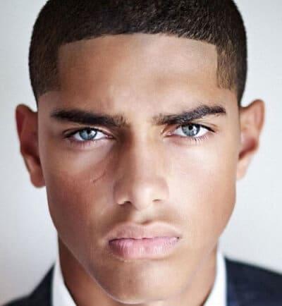 short haircuts for black men