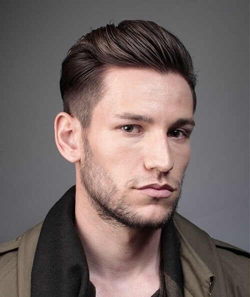 Sleek Hairstyles For Men. Short Length Hairstyles