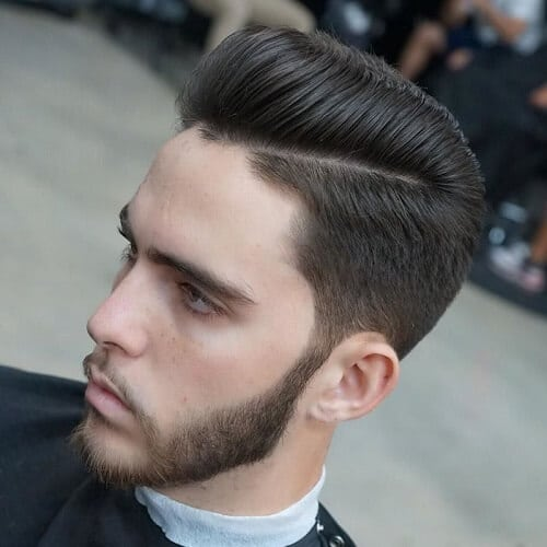 outgrown taper pompadour