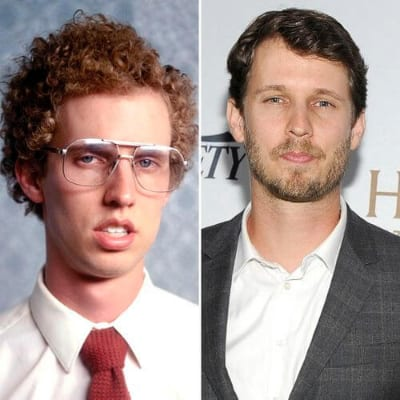 Jon Heder curly hairstyles for men