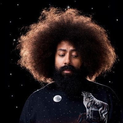 Guy with afro and beard