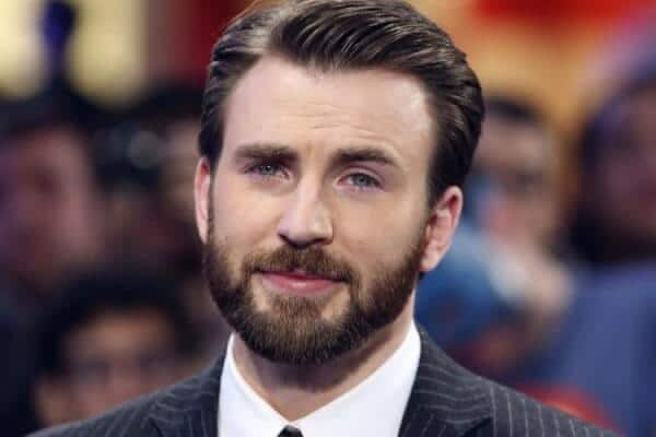 chris evans with goatee
