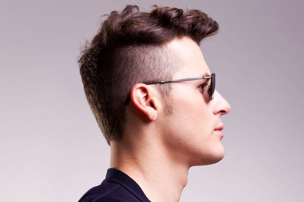 Sexiest Curly Hairstyles For Men MenHairstylistcom - Mens hairstyle with glasses