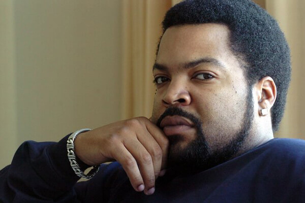 Ice Cube and his goatee
