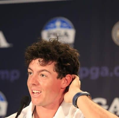 rory mcllroy with curls