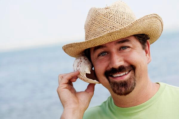 Man with thick goatee