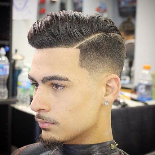 undercut goatee styles