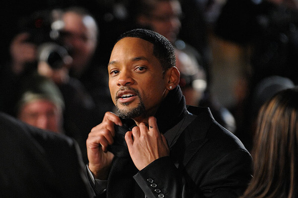Will Smith at a movie premiere