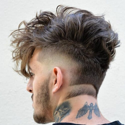 awesome best fohawk haircut styles