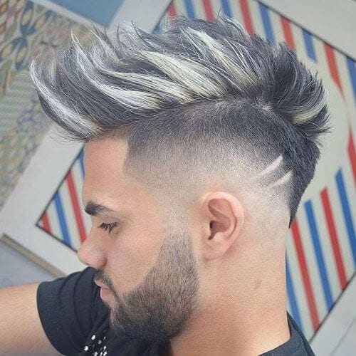 45 Best Fohawk Haircut Styles Menhairstylist Men Hairstylist