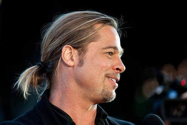 Brad Pitt in the spotlight