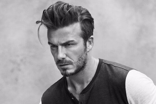 david beckham modern haircut