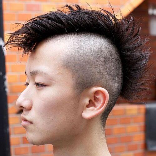 hip fohawk best fohawk haircut styles