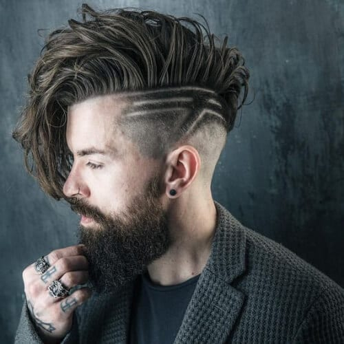 hipster taper cut styles