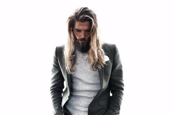 hairstyles for men with long hair