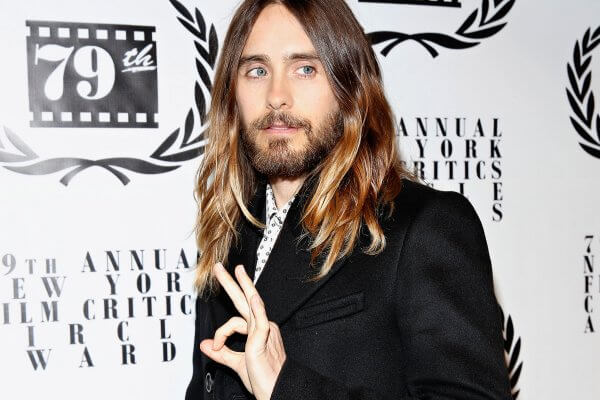 Jared Leto ombre hair