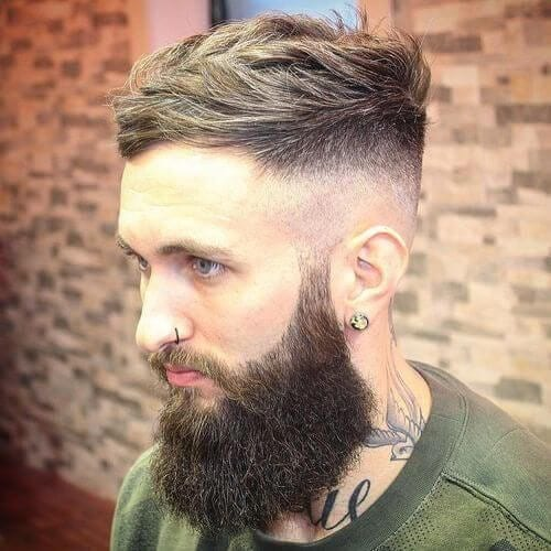 lumberjack taper cut styles