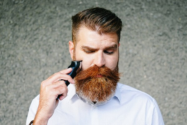 man with long thick beard