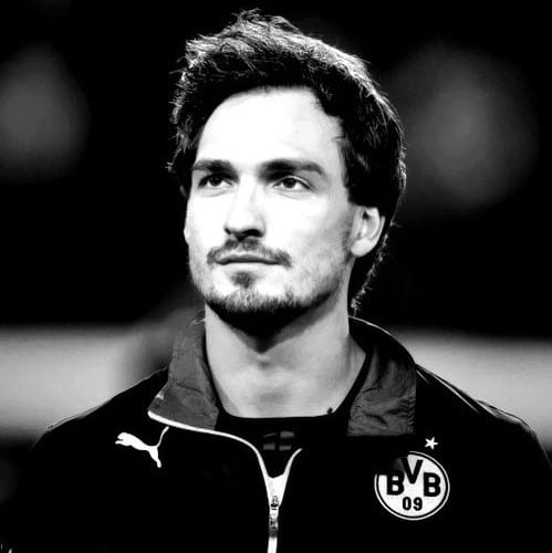 matt hummels popular soccer haircuts