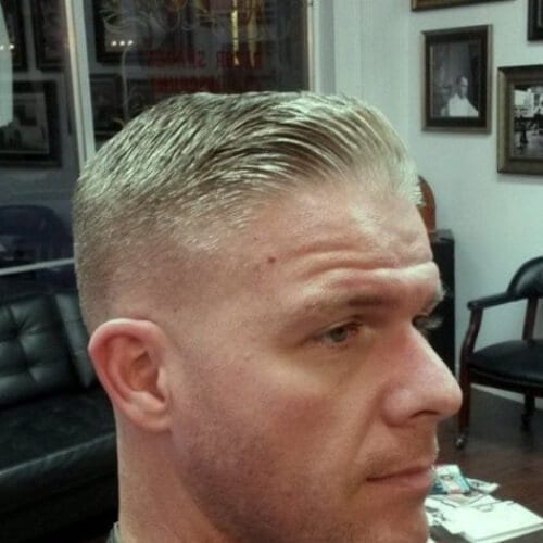 military taper cut styles
