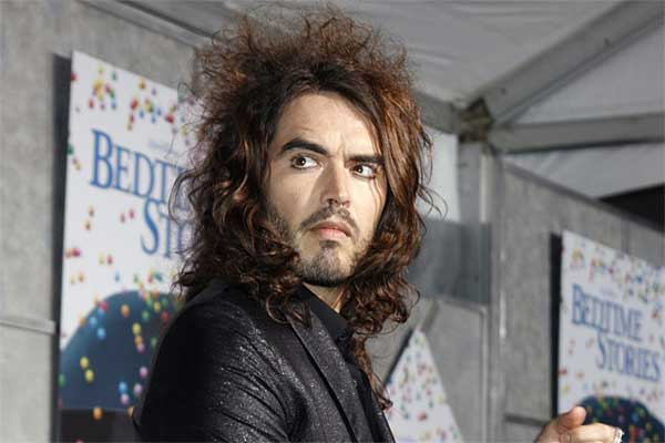 russell brand iconic look