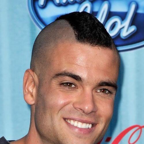 short buzzed top best fohawk haircut styles