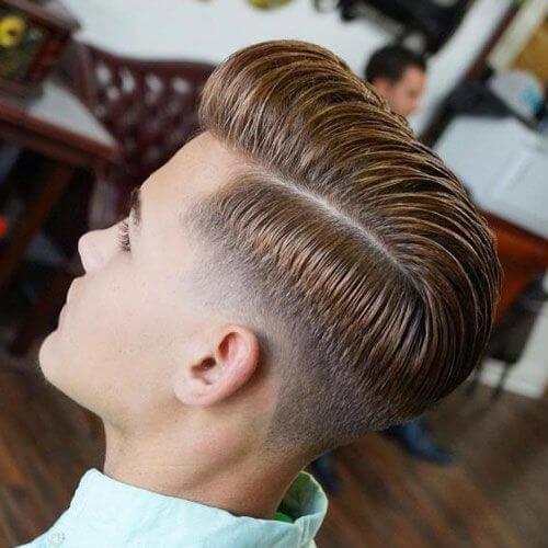 skin fade taper cut styles