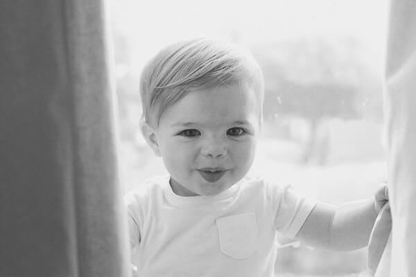 elegantly dressed little boy