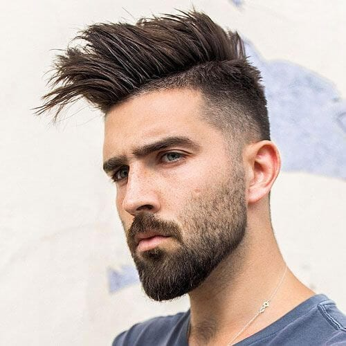 spikes taper cut styles