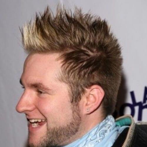 spiky best fohawk haircut styles