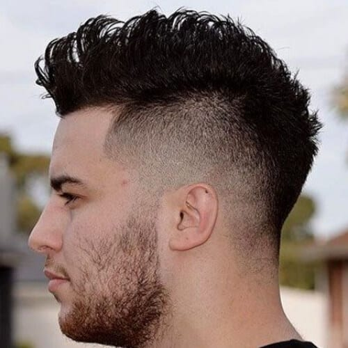 Amazing 45 Best Fohawk Haircut Styles For A Bit Of Subtle Style Schematic Wiring Diagrams Amerangerunnerswayorg