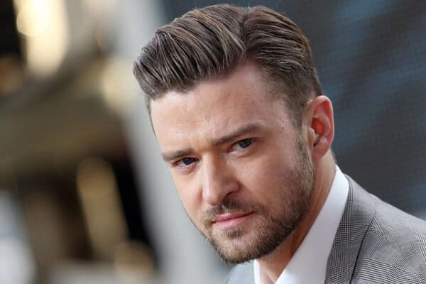 justin timberlake sided haircut