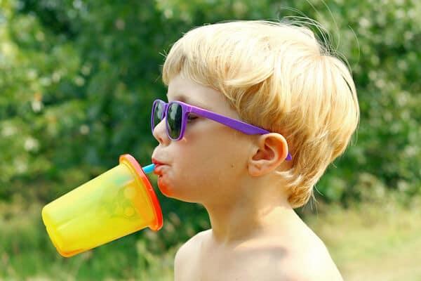 boy with shades