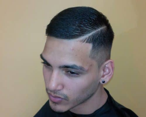 sided taper cut
