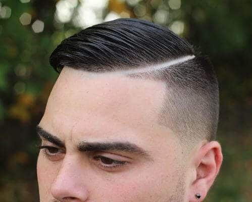 stunning taper haircut