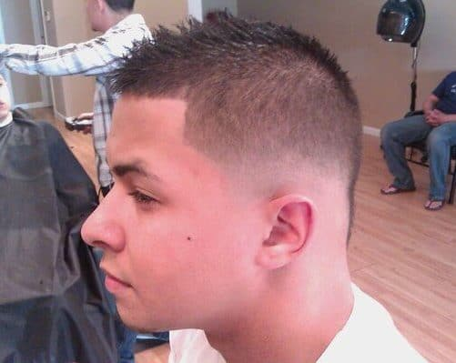 fading taper haircut