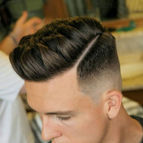 textured taper cut styles