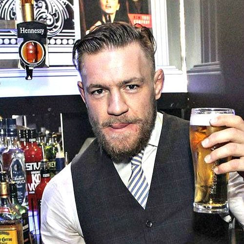 Conor McGregor comb over haircut