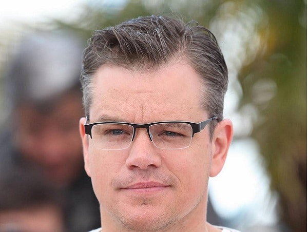 Matt Damon Ivy League Haircut